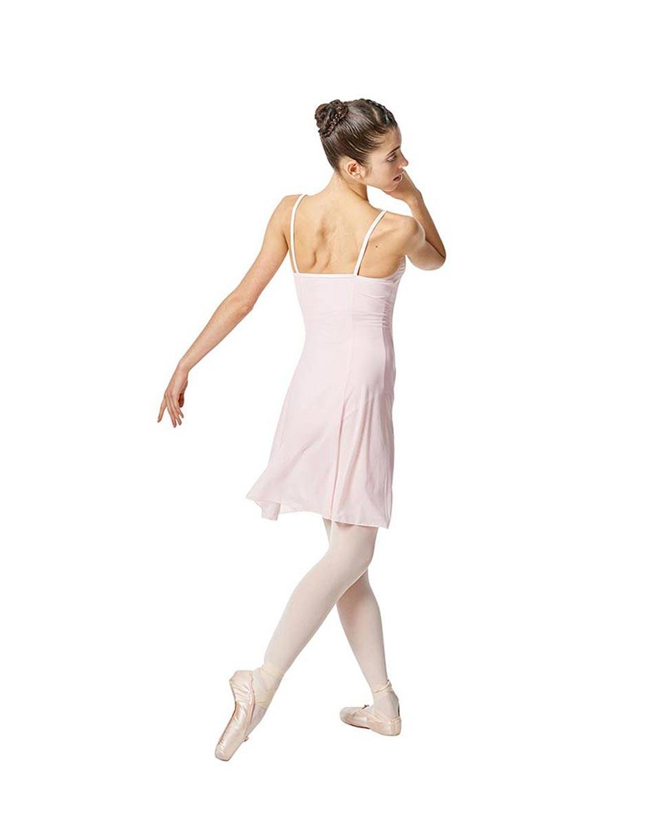 Womens Camisole Mesh Ballet Dress Leotard Natalie PNK