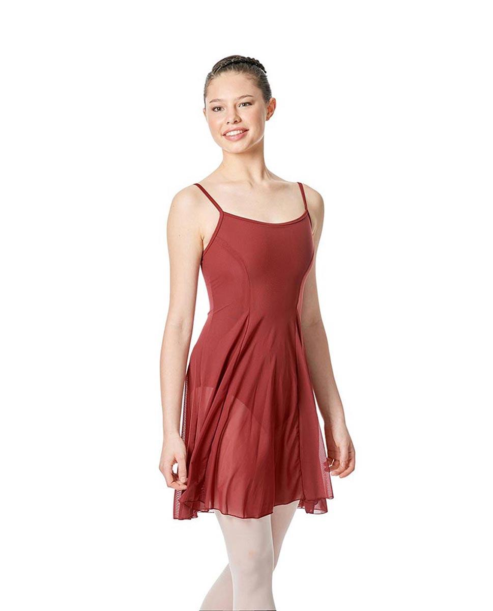 Womens Camisole Mesh Ballet Dress Leotard Natalie BUR