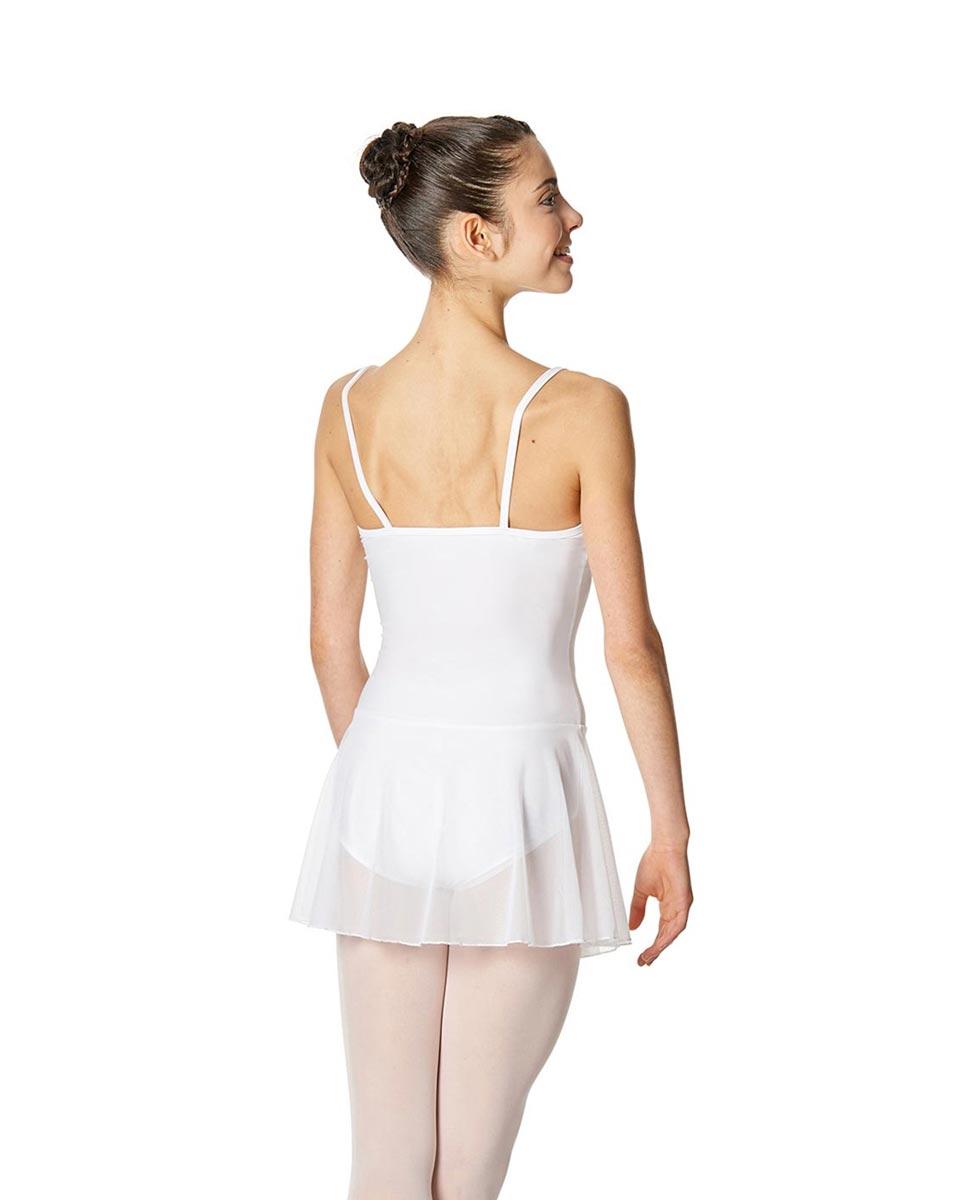 Womens Camisole Mesh Ballet Skirted Leotard Lillian short-mesh-ballet-dress