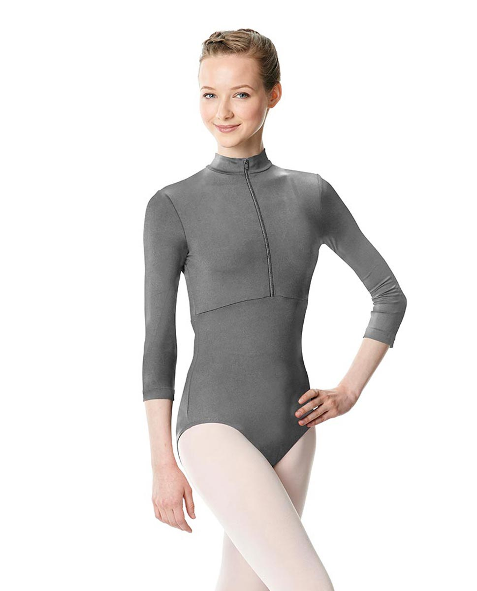 Long Sleeve Zipper Dance Leotard Eliana GRE