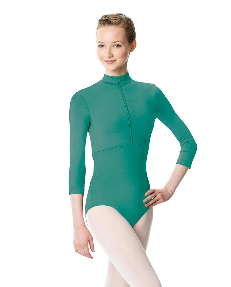 Long Sleeve Zipper Dance Leotard Eliana JAD