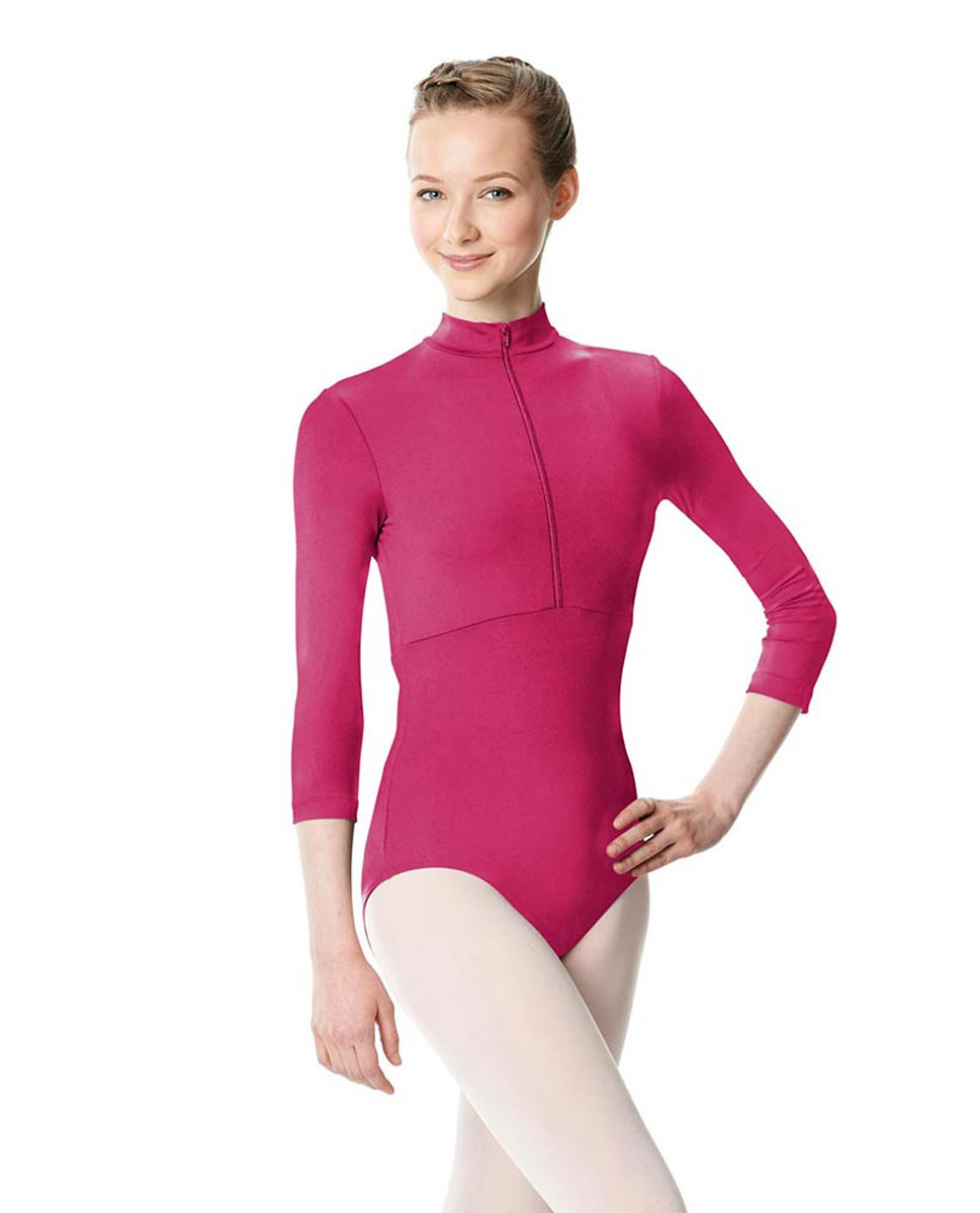 Long Sleeve Zipper Dance Leotard Eliana FUC