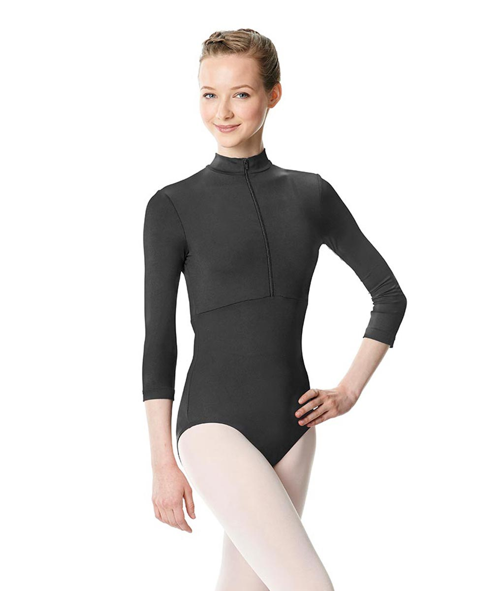 Long Sleeve Zipper Dance Leotard Eliana DGRE