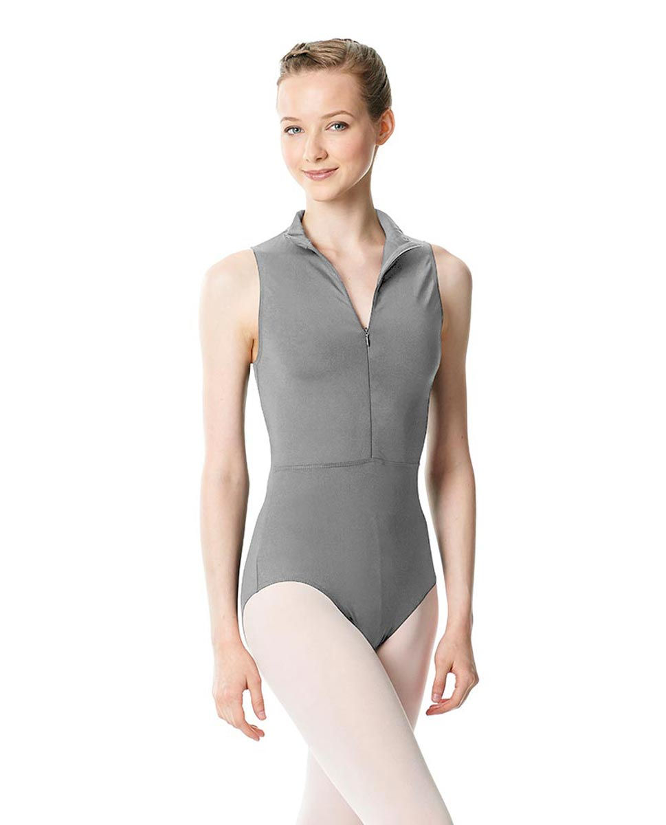 Womens Turtleneck Front Zipper Dance Leotard Leah GRE