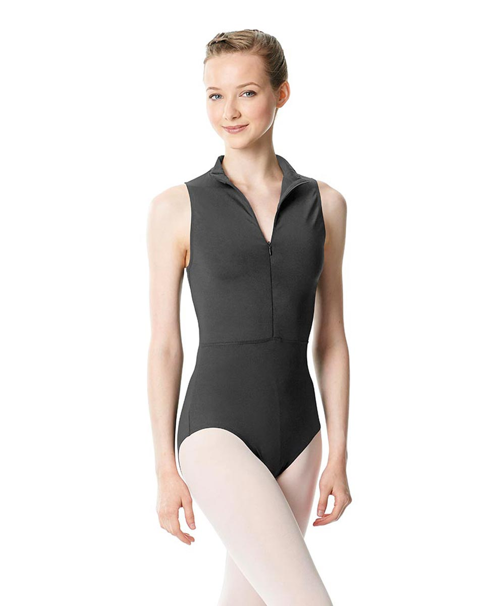Womens Turtleneck Front Zipper Dance Leotard Leah DGRE