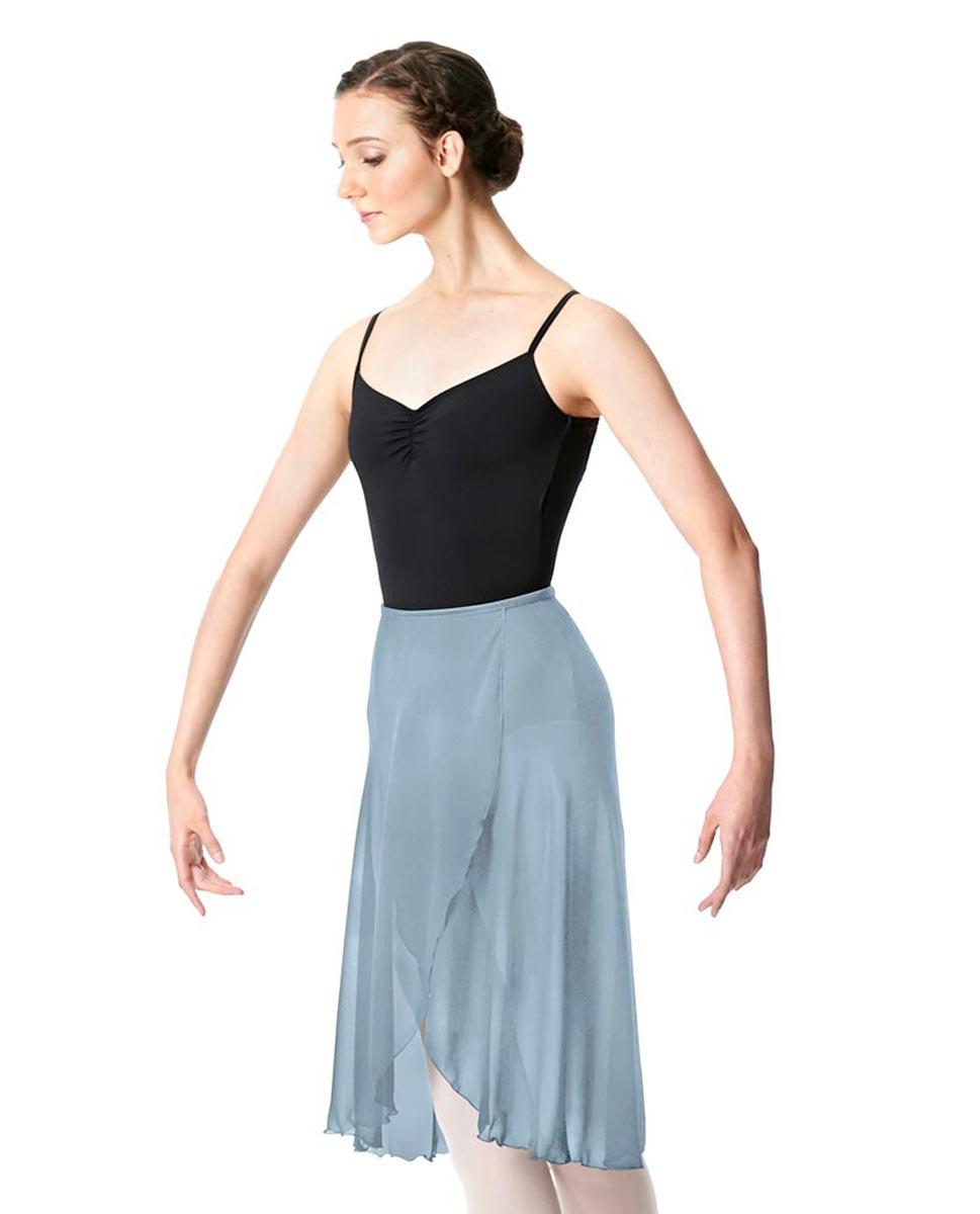 Midi Length Wrap Dance Skirt Addison SKY