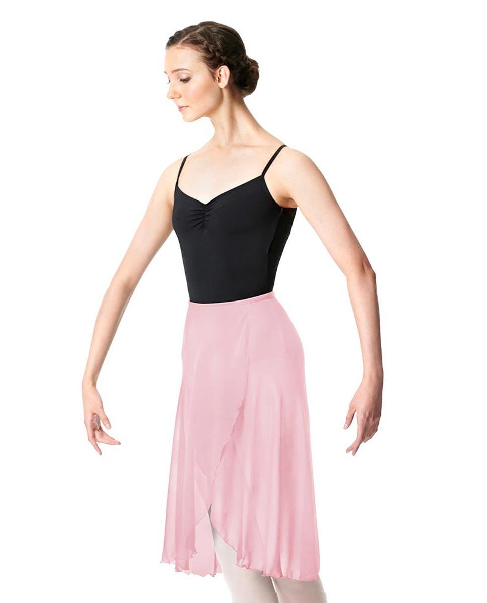 Midi Length Wrap Dance Skirt Addison PNK