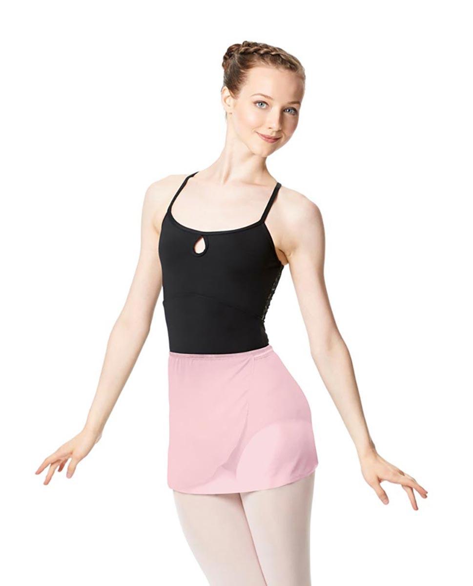 Adult Short Wrap Ballet Skirt Hailey PNK