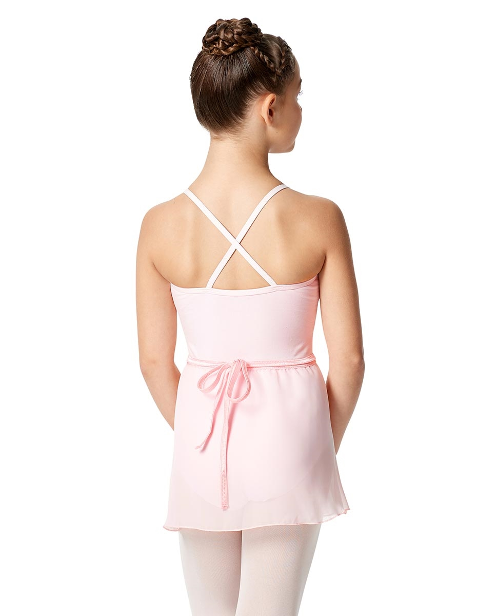 Child Short Wrap Skirt Hailey back