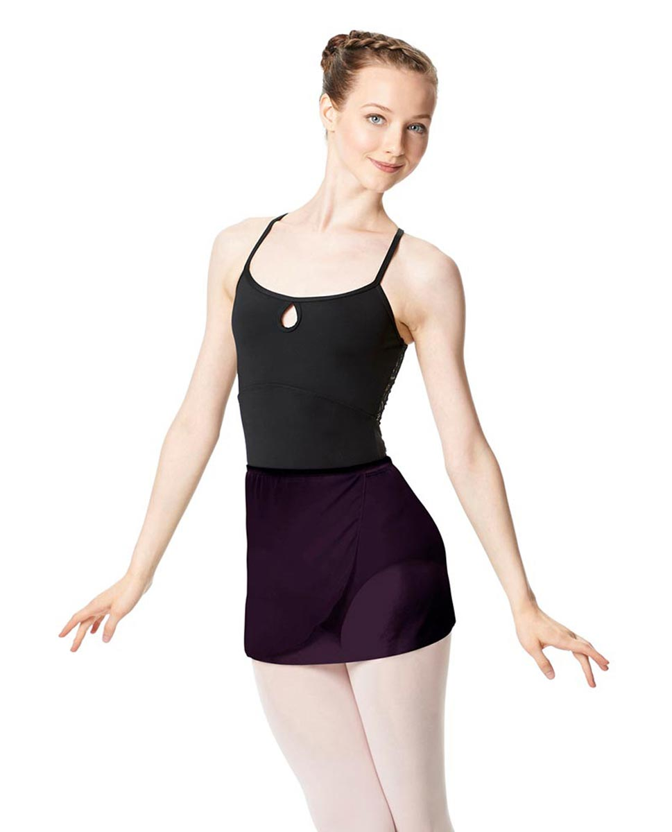 Adult Short Wrap Ballet Skirt Hailey AUB