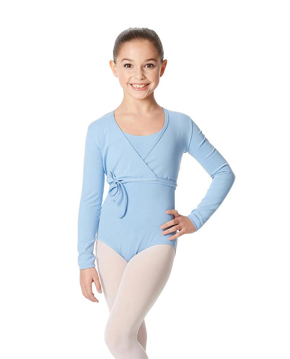 Child Ballet Wrap Top Arianna SKY