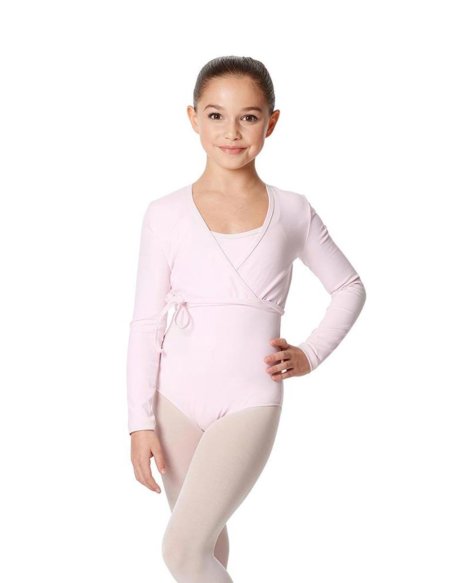 Child Ballet Wrap Top Arianna PNK