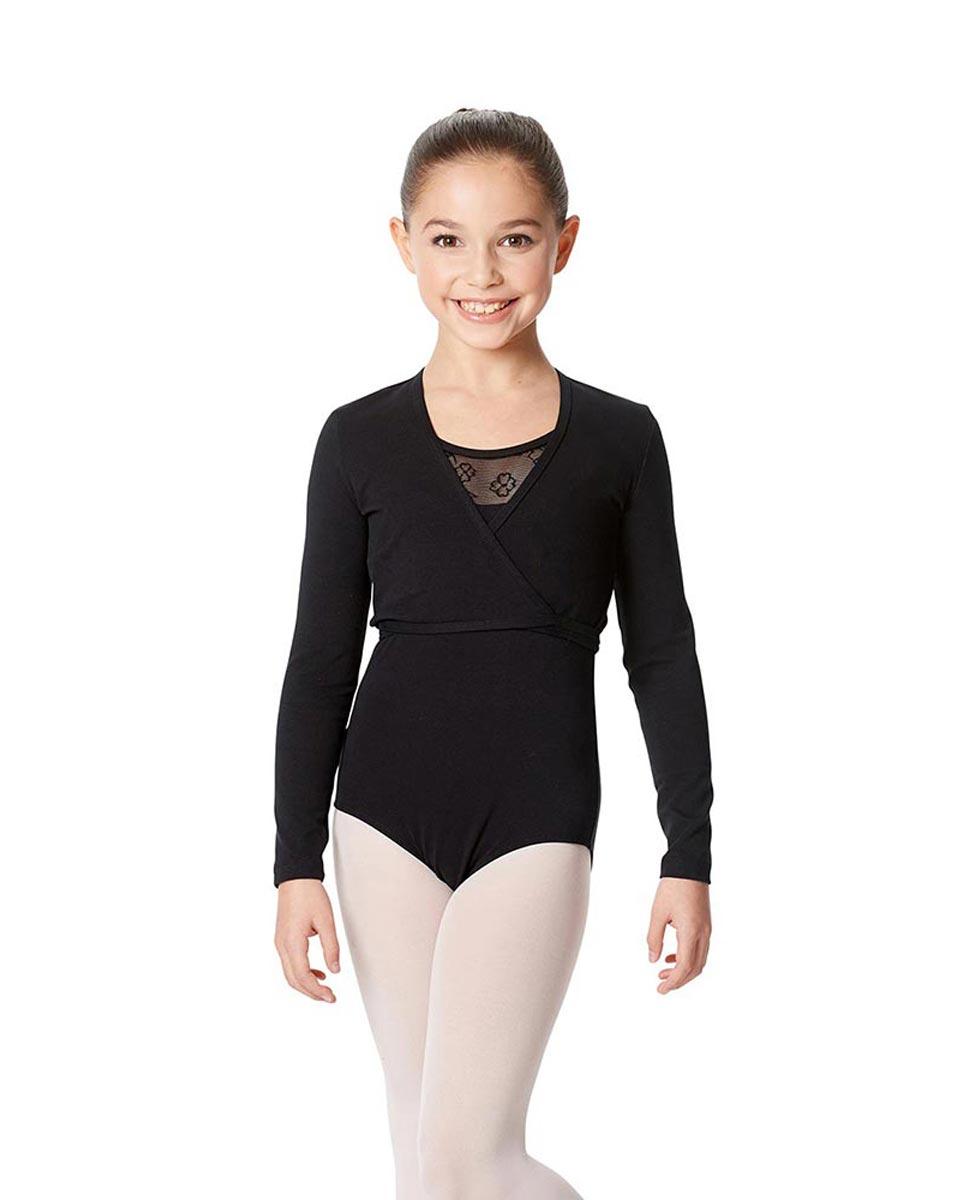 Child Ballet Wrap Top Arianna BLK