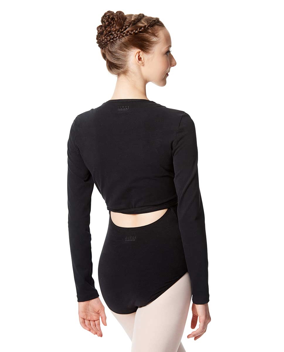 Adult Ballet Wrap Top Arianna back