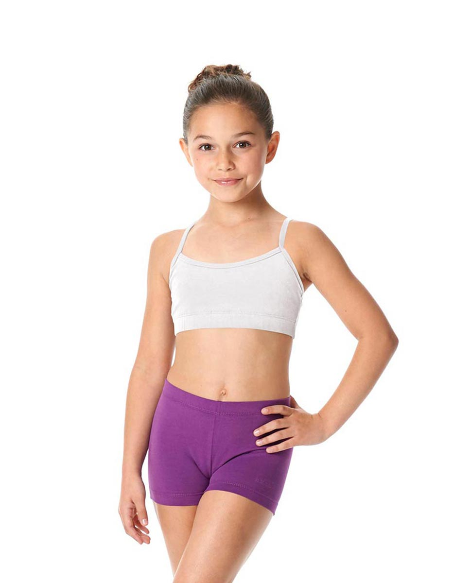 Child Camisole X-Back Dance Bra Top Evelin WHI