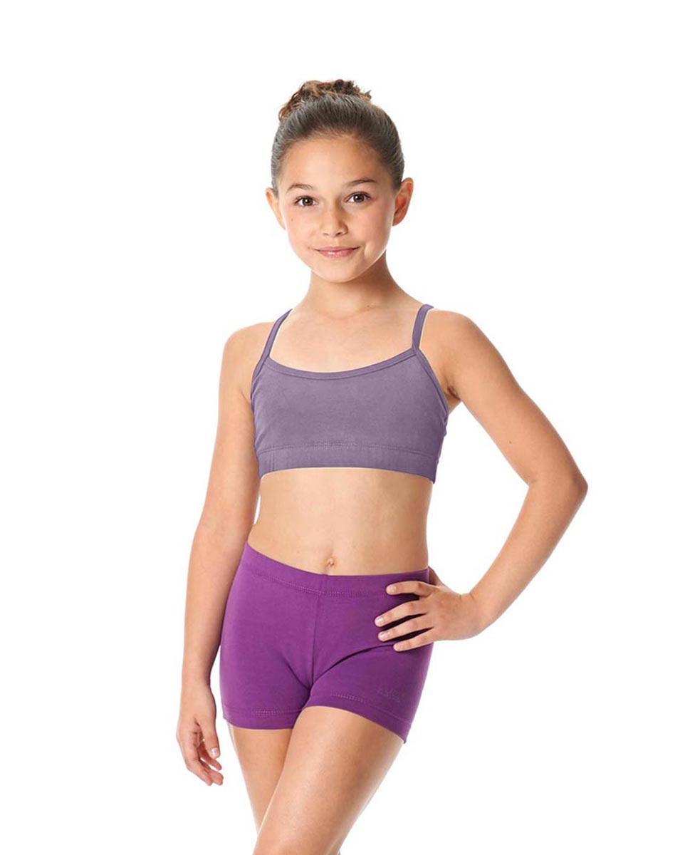 Child Camisole X-Back Dance Bra Top Evelin LAV