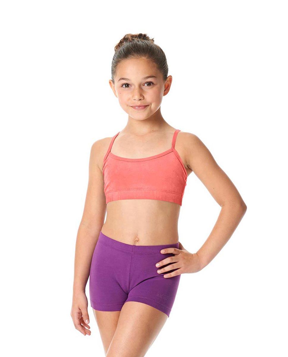 Child Camisole X-Back Dance Bra Top Evelin PEAC