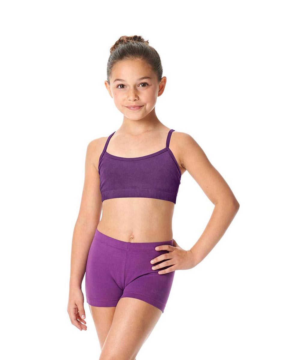 Child Camisole X-Back Dance Bra Top Evelin GRAP