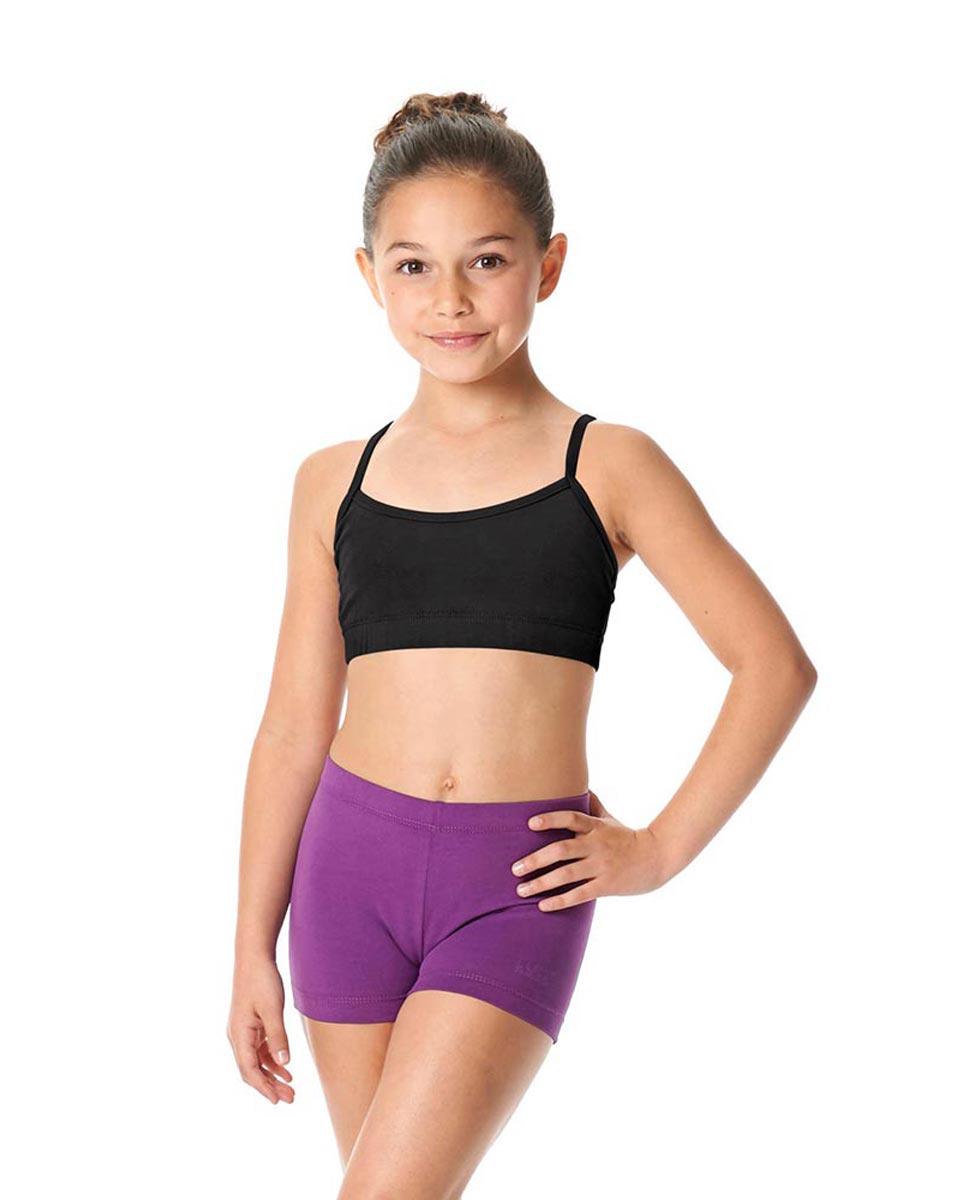 Child Camisole X-Back Dance Bra Top Evelin BLK