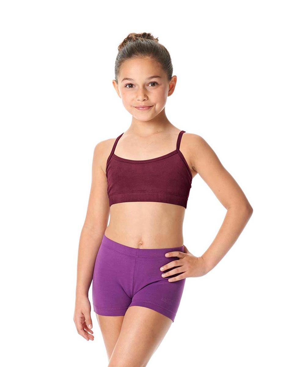 Child Camisole X-Back Dance Bra Top Evelin BUR