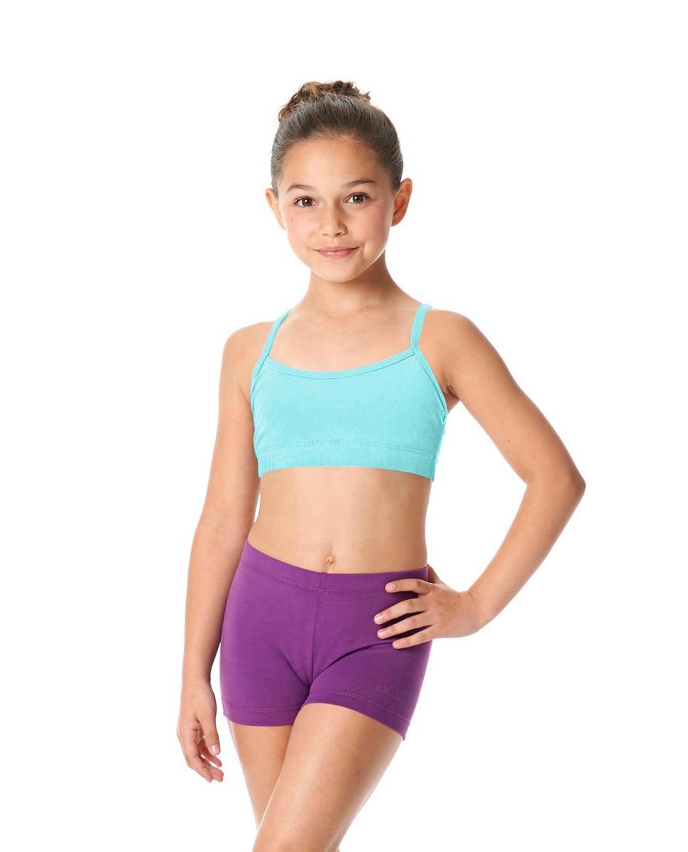Child Camisole X-Back Dance Bra Top Evelin AQU