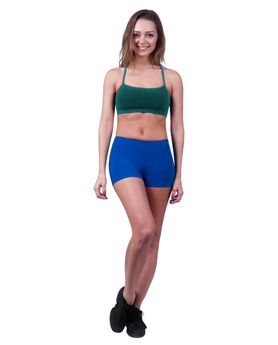 Womens Camisole X-Back Dance Bra Top Evelin TEA