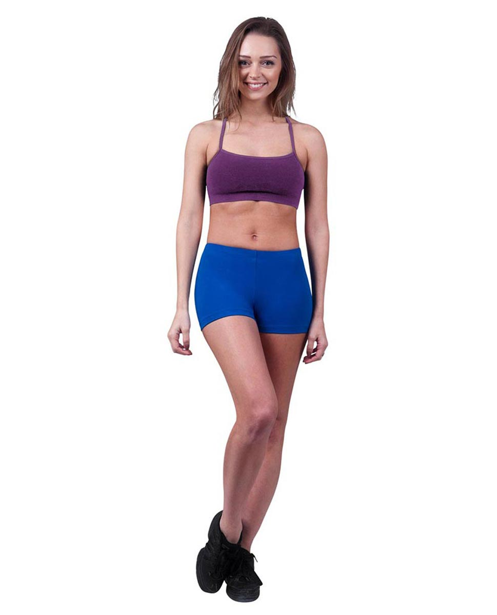 Womens Camisole X-Back Dance Bra Top Evelin GRAP