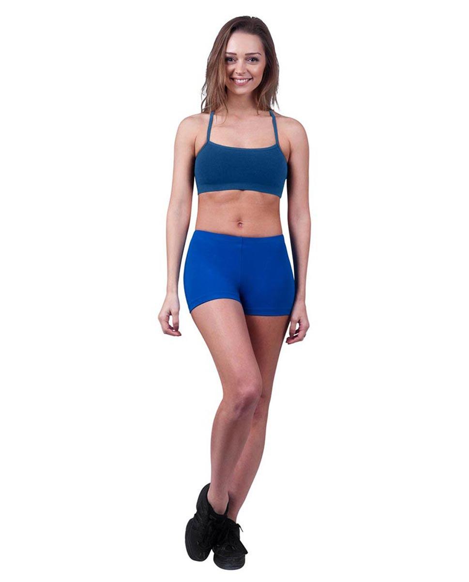 Womens Camisole X-Back Dance Bra Top Evelin BLUE