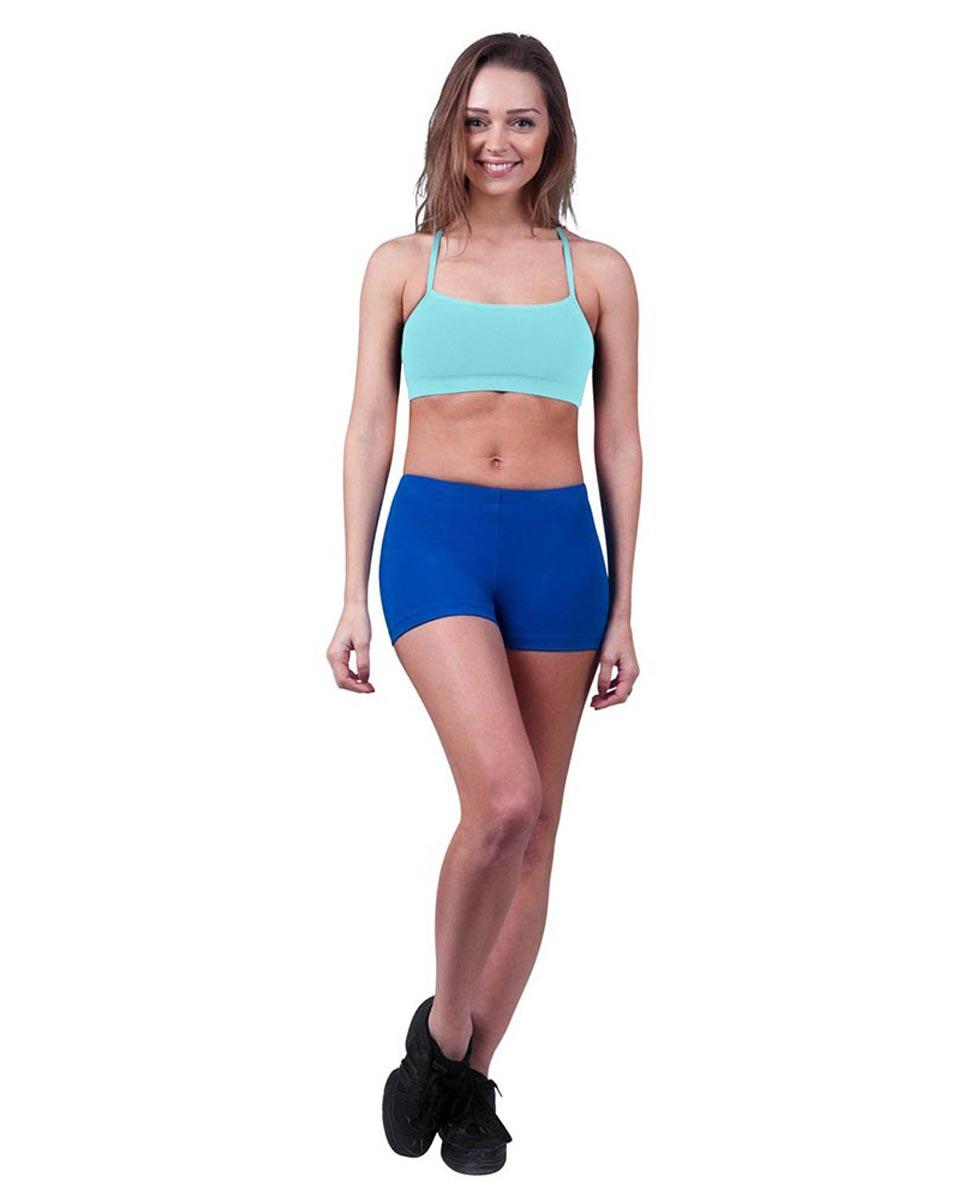 Womens Camisole X-Back Dance Bra Top Evelin AQU
