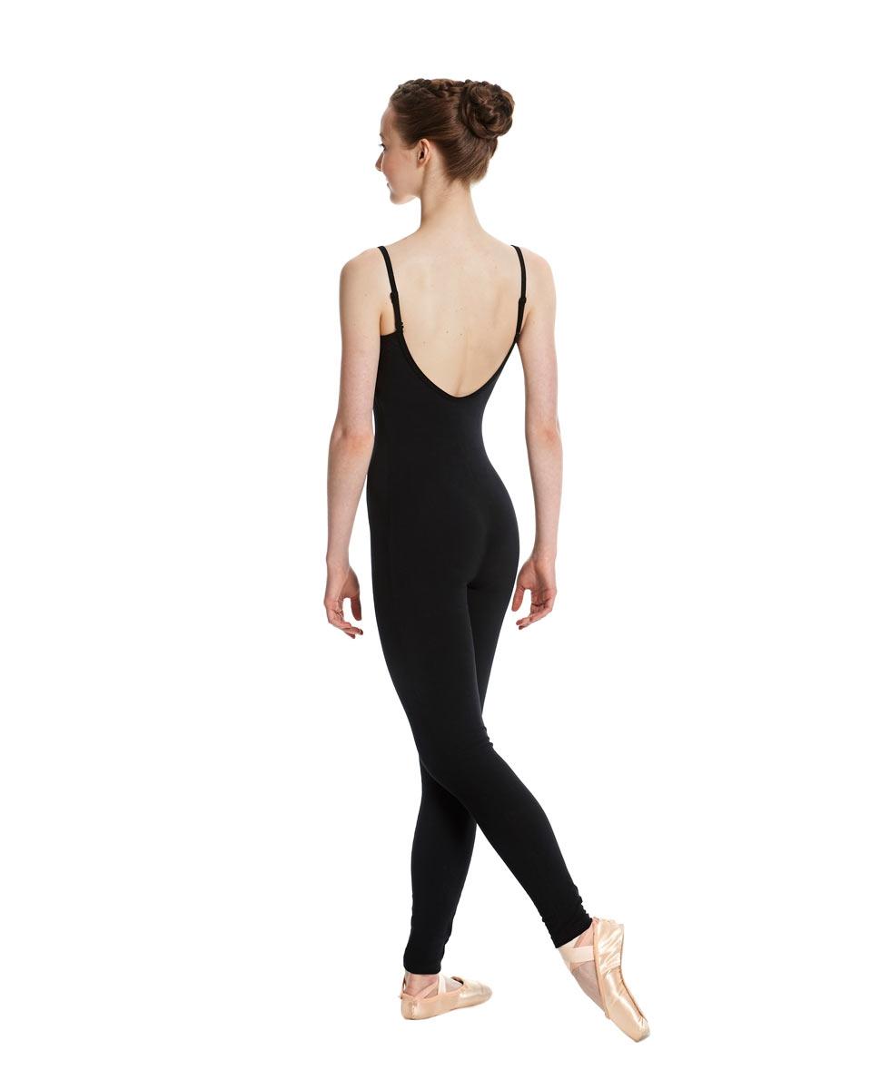 Women X-Back Full Body Dance Unitard Madelyn back