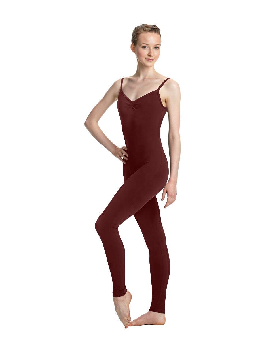 Women X-Back Full Body Dance Unitard Madelyn BUR