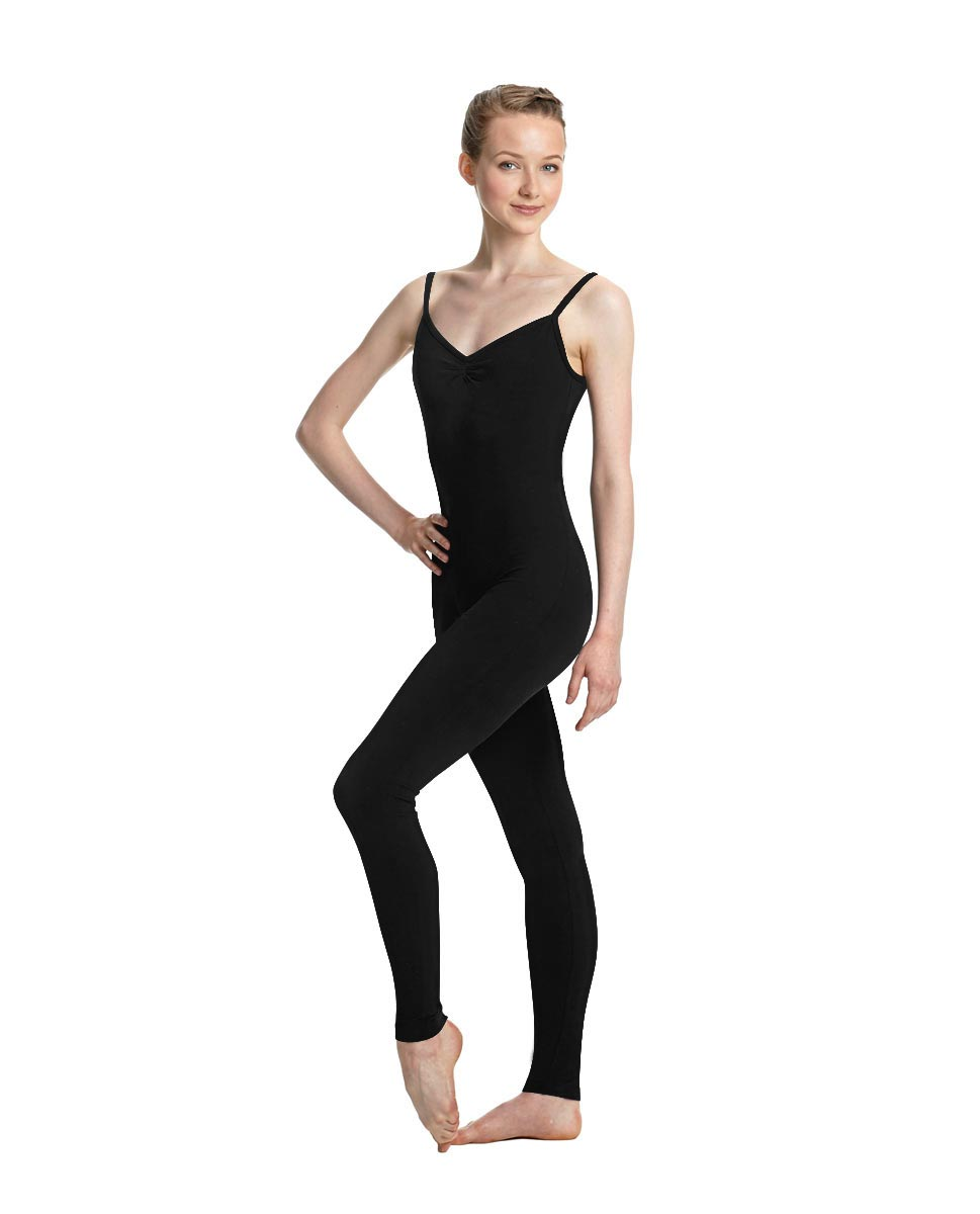 Women X-Back Full Body Dance Unitard Madelyn BLK