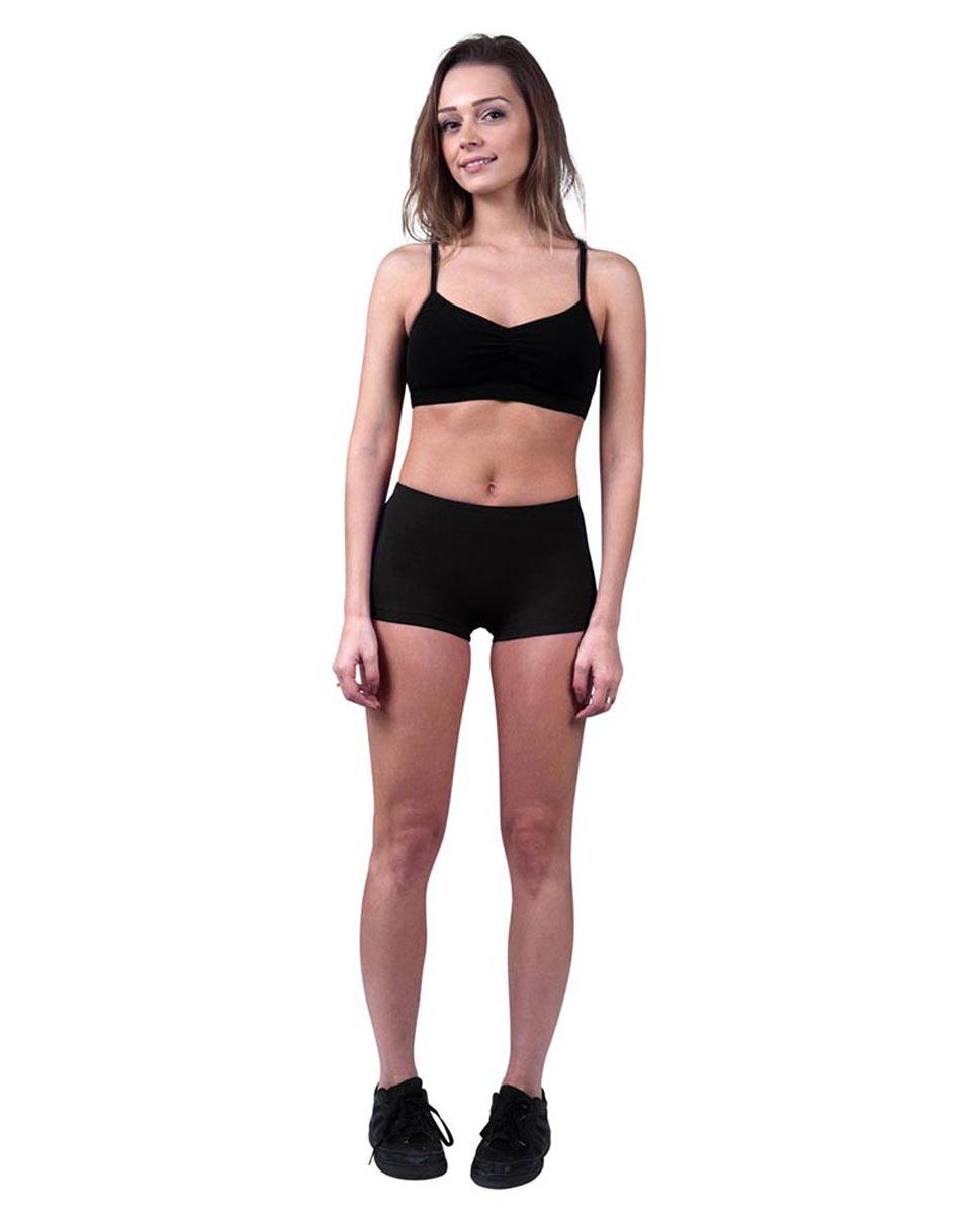Womens Dance Hot Pants Isabella BLK