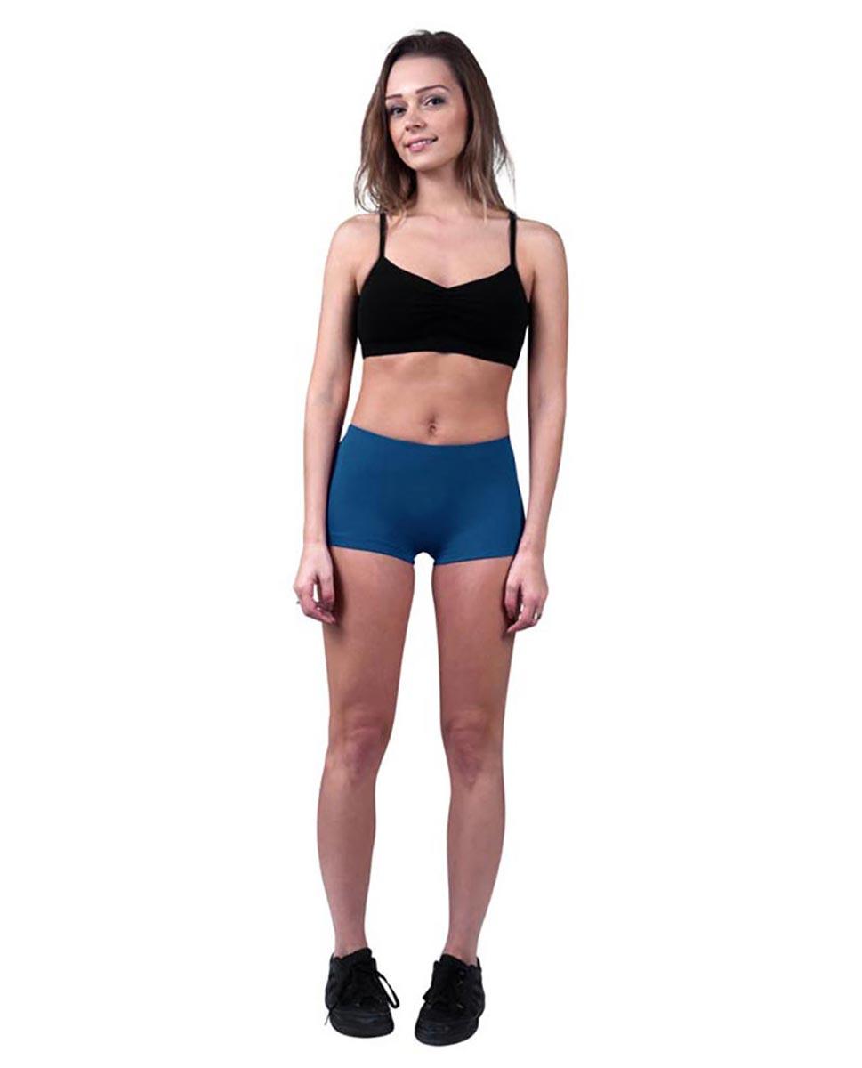 Womens Dance Hot Pants Isabella BLUE