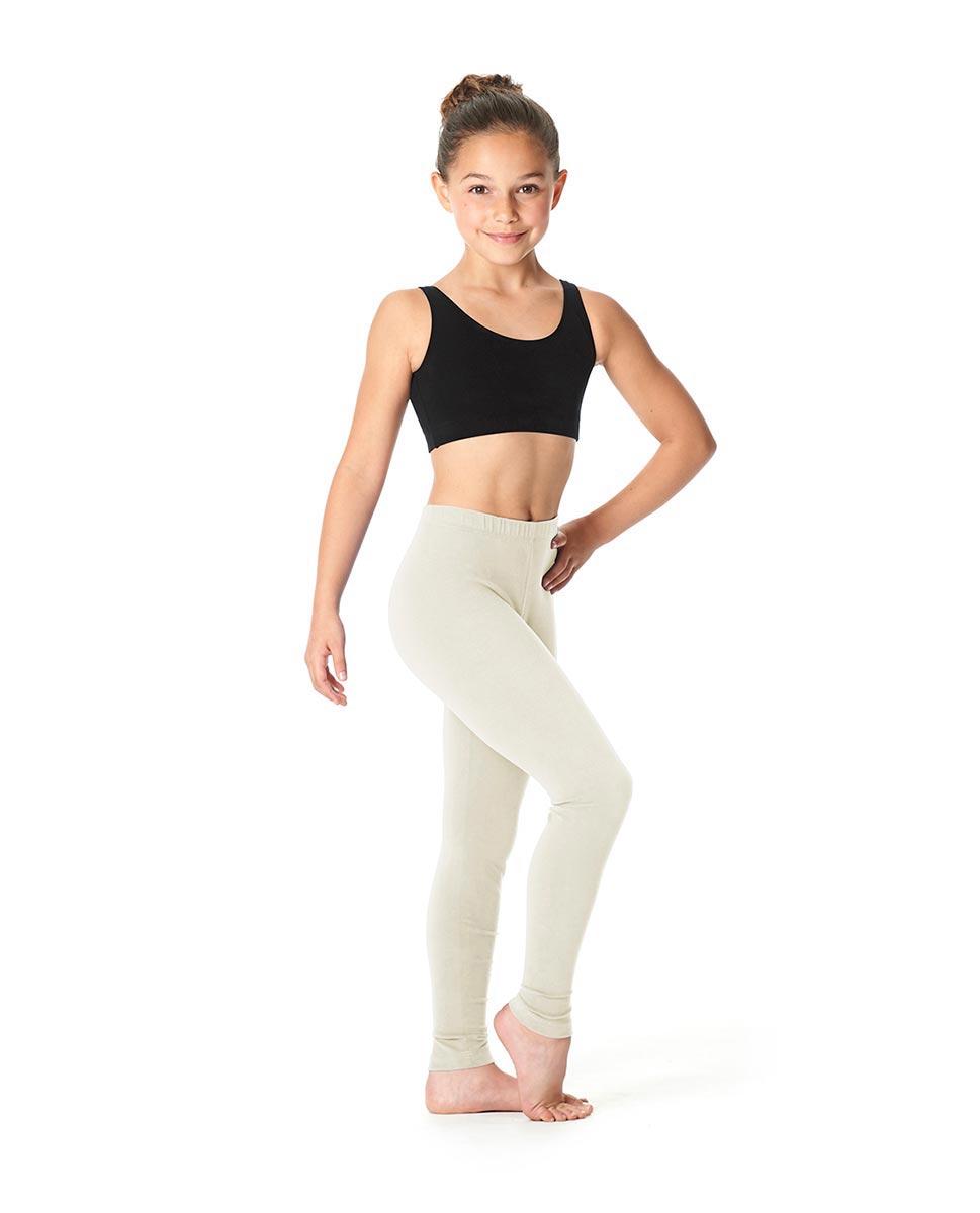 Child  Ankle Length Dance Leggings Layla IVOR