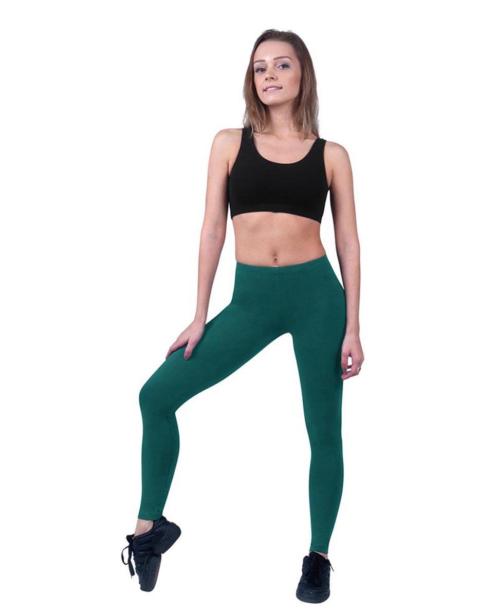 Women Ankle Length Dance Leggings Layla TEA
