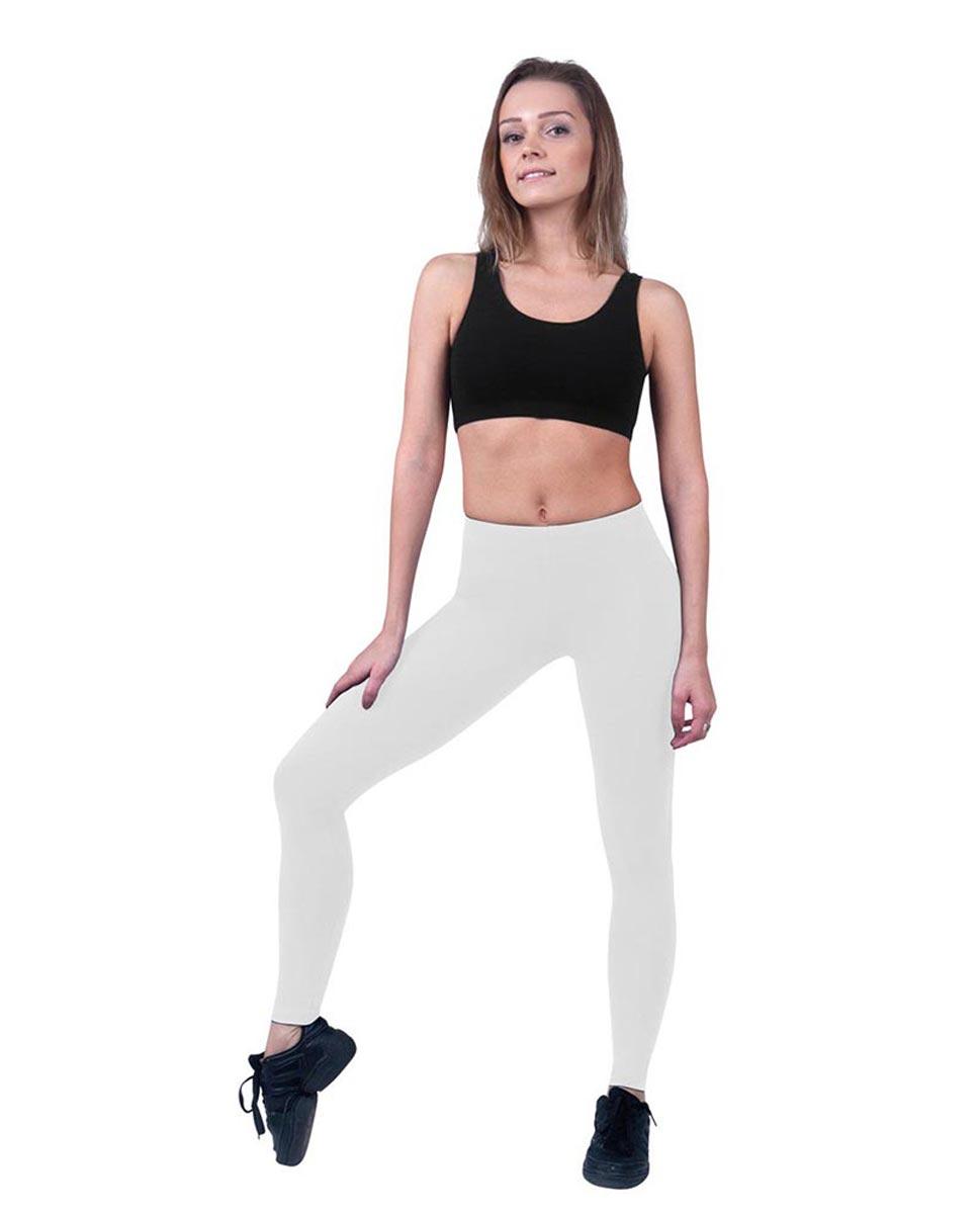 Women Ankle Length Dance Leggings Layla WHI