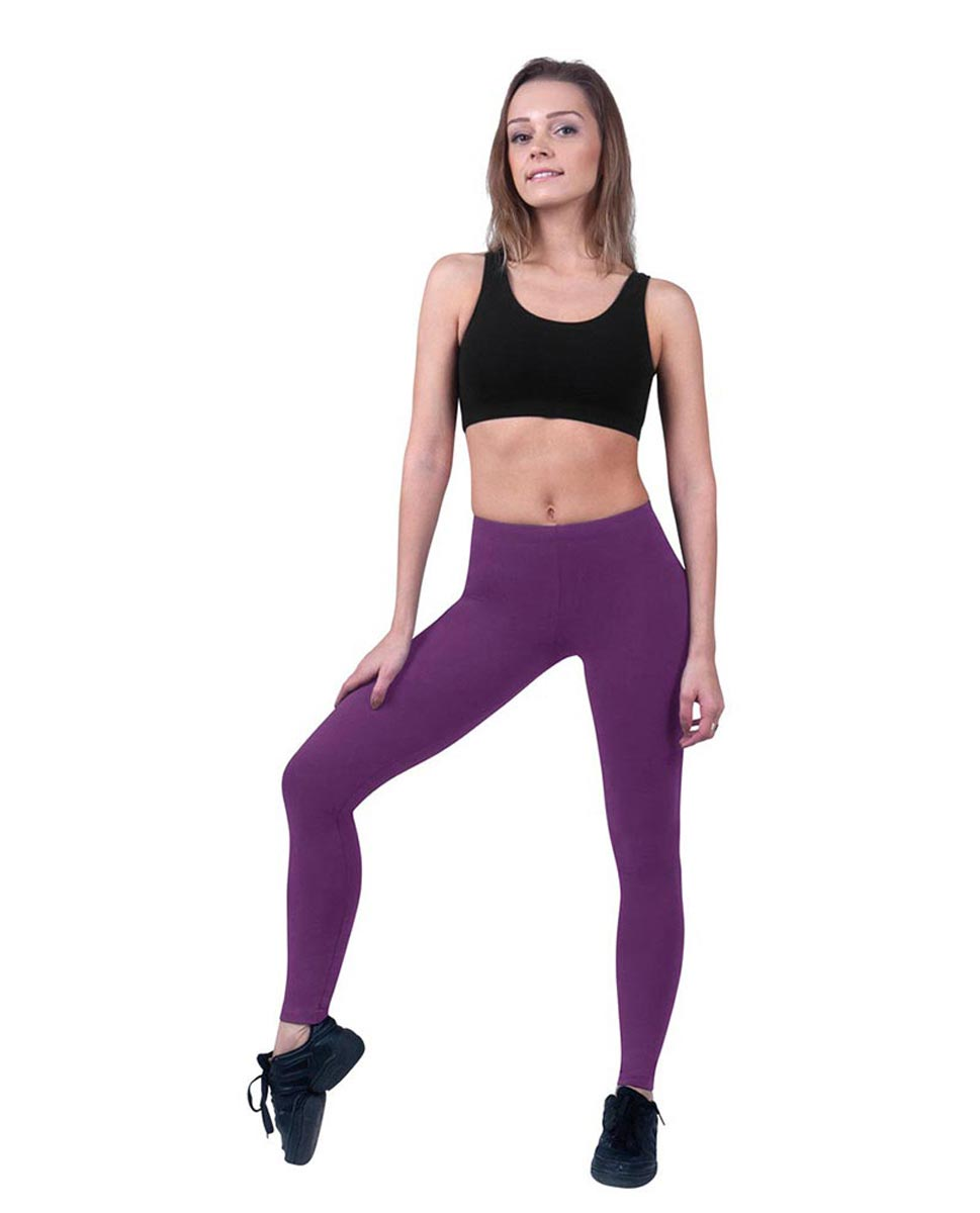 Women Ankle Length Dance Leggings Layla GRAP