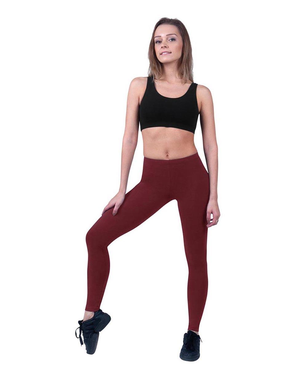 Women Ankle Length Dance Leggings Layla BUR