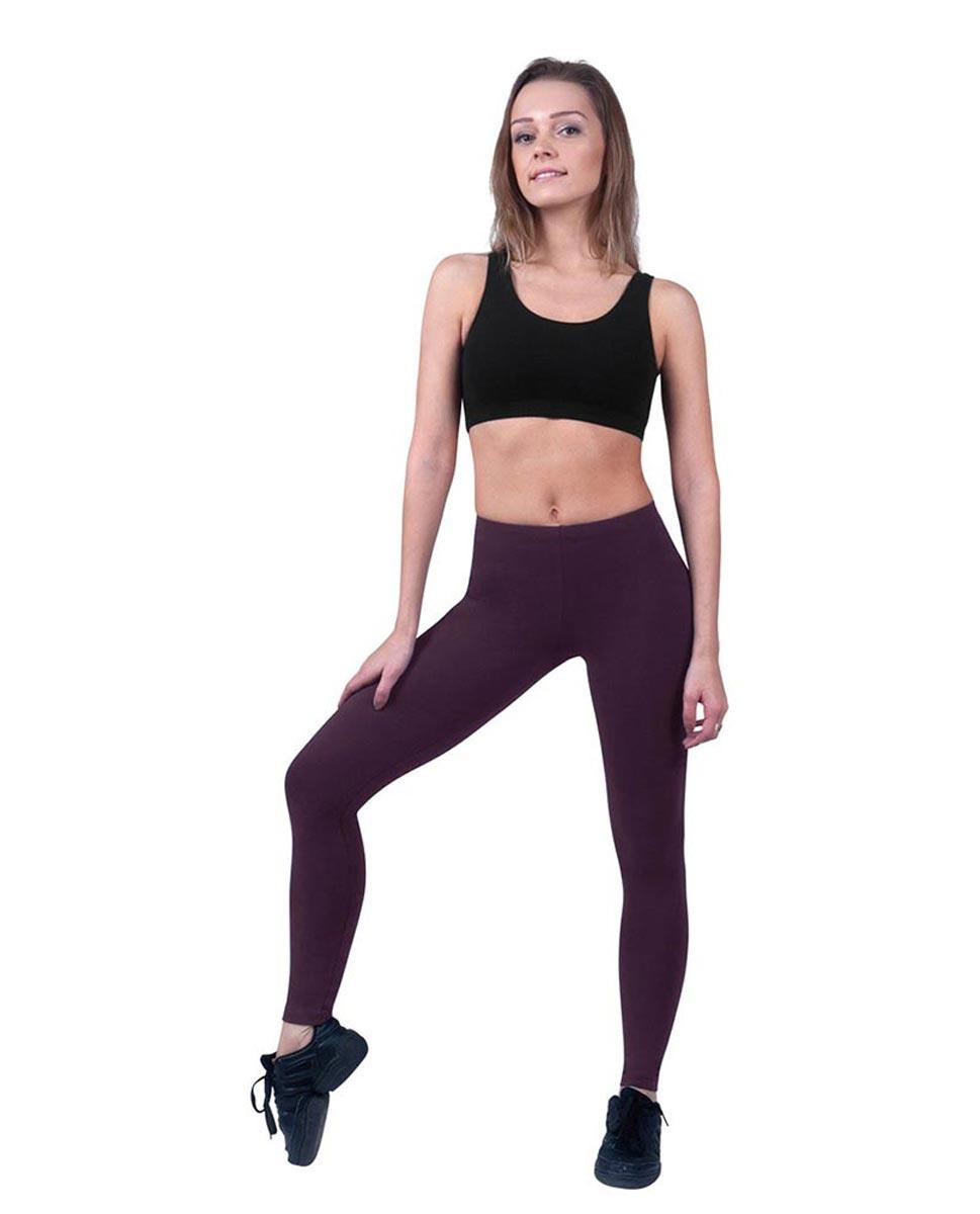 Women Ankle Length Dance Leggings Layla AUB