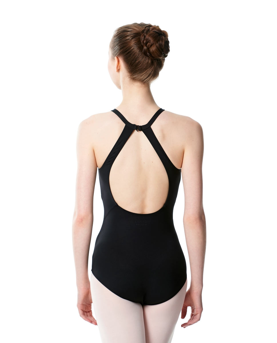 High Neck Tank Dance Leotard Ivana back