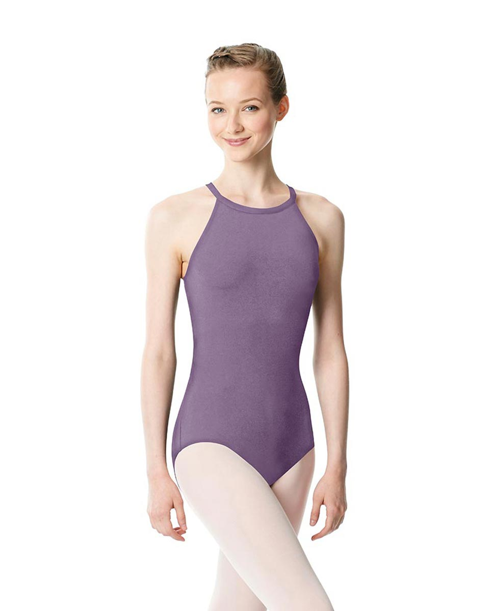 High Neck Tank Dance Leotard Ivana LAV