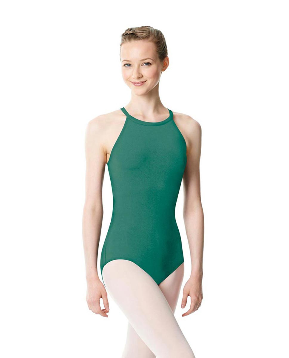 High Neck Tank Dance Leotard Ivana JAD
