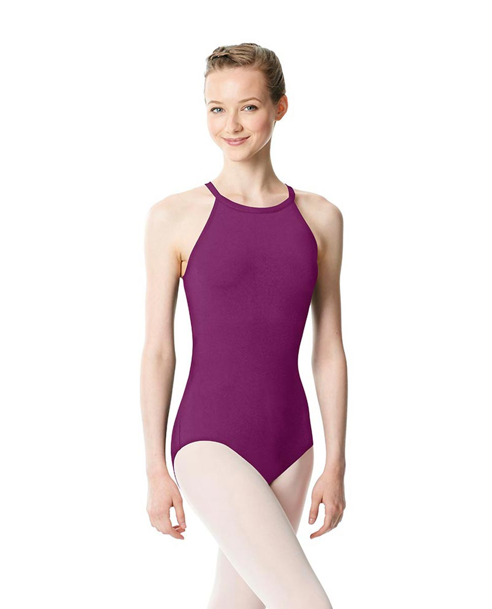 High Neck Tank Dance Leotard Ivana GRAP