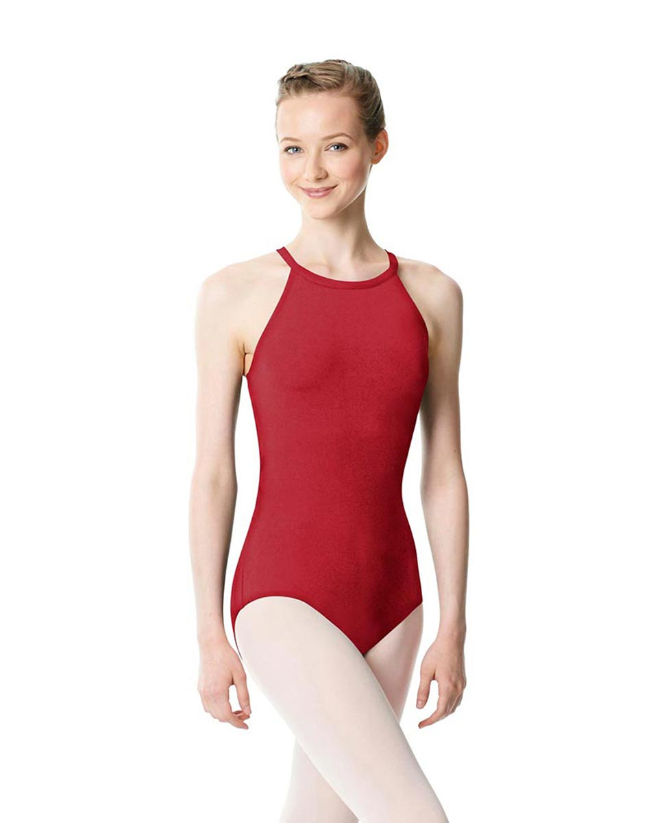 High Neck Tank Dance Leotard Ivana DRED
