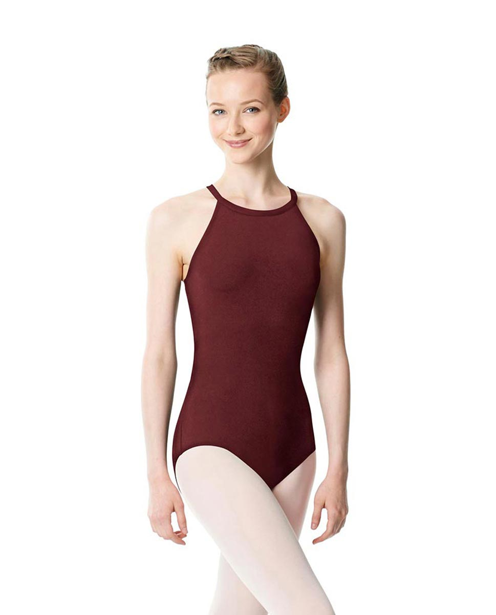 High Neck Tank Dance Leotard Ivana BUR
