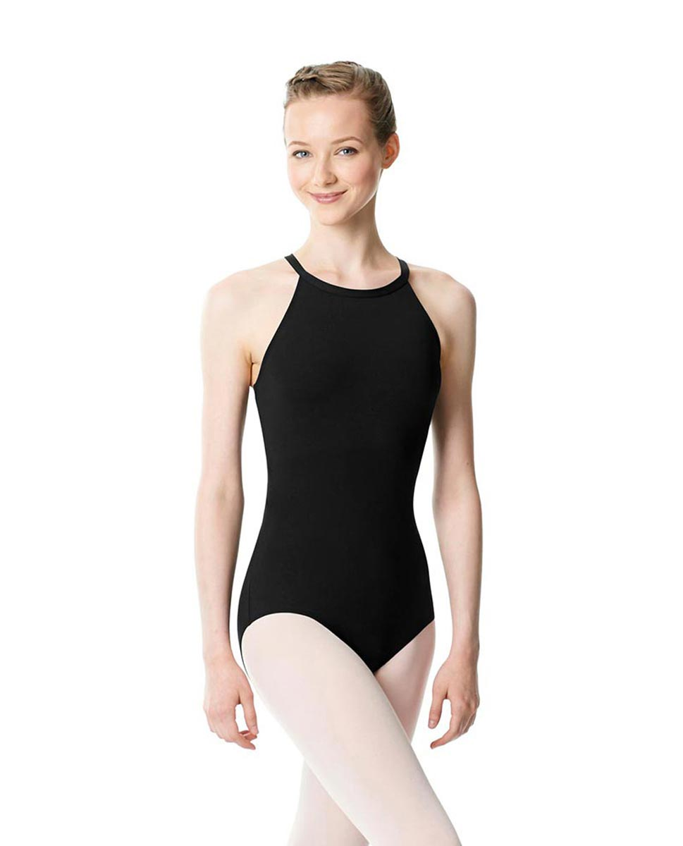 High Neck Tank Dance Leotard Ivana BLK