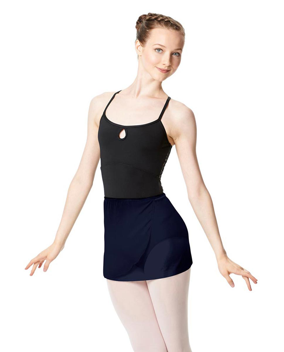 Adult Short Wrap Ballet Skirt Hailey NAY