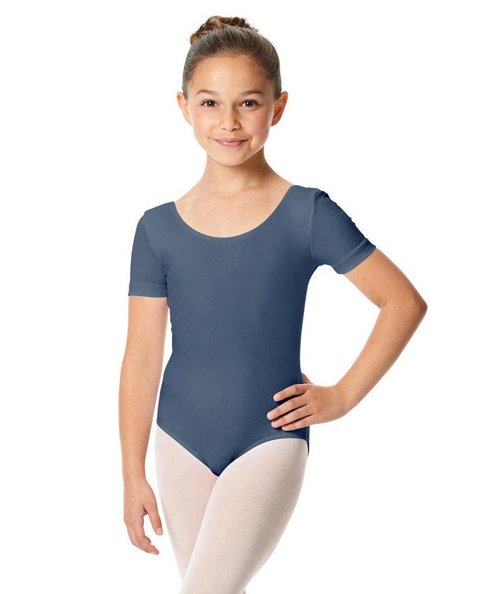 Child Short Sleeve Ballet Leotard Lauretta JEA