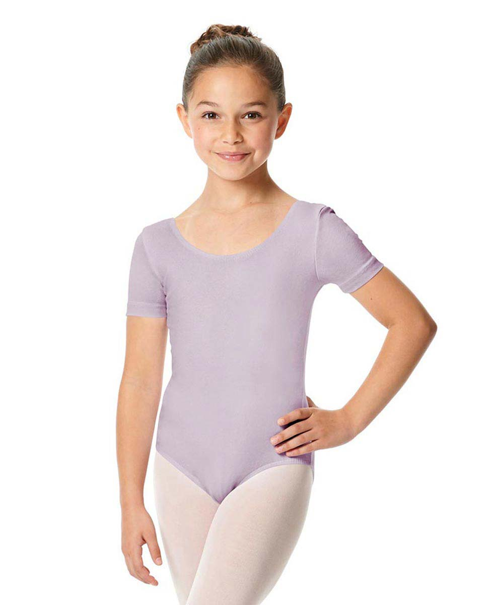 Child Short Sleeve Ballet Leotard Lauretta LIL